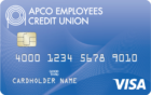 APCOECU Visa Platinum Rewards Credit Card